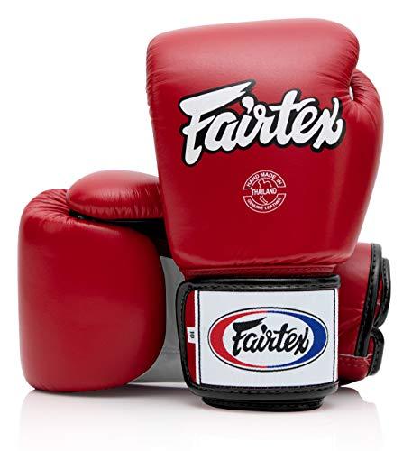 Fairtex Muay Thai Boxing Gloves BGV1 10 12 14 16 oz Black White Red Blue Pink Emerald Redwhiteblack white trim 16 oz