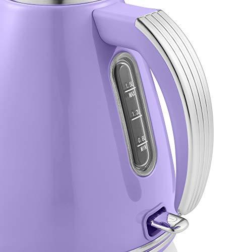 Swan Retro 1.5 Litre Jug Kettle 3KW - Purple