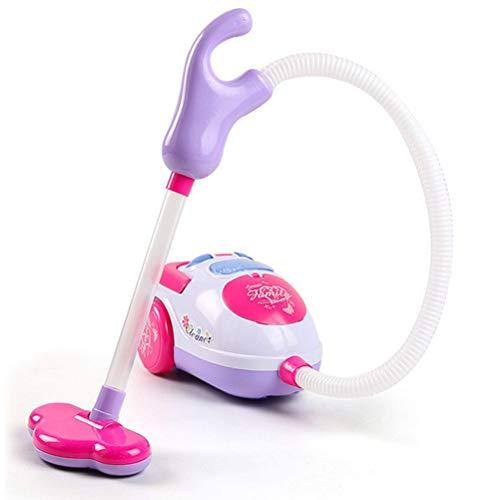 Holmeey Mini aspiradora para niños Juego de Juguete Aspiradora de Limpieza de Niños Push-Pull Pretend Playset de Niños Aspiradora Juguetes para Niños