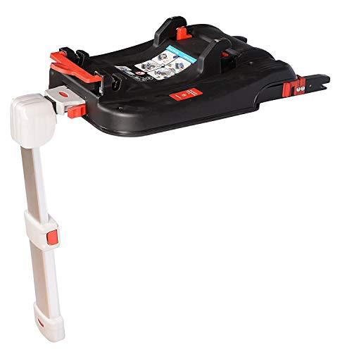 Clamaro 'LUNA' ISOFIX Base für die Clamaro JUNO Auto Babyschale, Basisstaton mit visueller und akustischer Rückmeldung, passend für die Autositze der Clamaro Kinderwagen Sets wie z.B. CORAL oder VIP