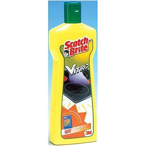 Scotch-Brite Casa-Detergenti per la Cucina Spray Limpiador para Vitrocerámica, 500 ml, Negro