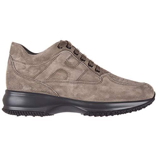 Hogan Zapatos Zapatillas de Deporte Mujer Interactive Allacciata Beige EU 39 HXW00N00010CR0C407