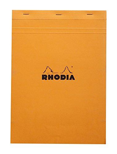 Rhodia Notepads Graph Paper - Orange 8-1/4 x 11-3/4
