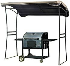 Garden Winds Curved Grill Shelter Replacement Canopy Top Cover