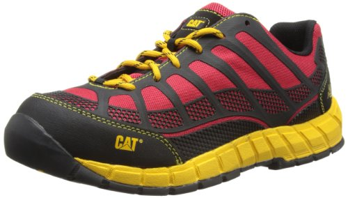 Cat Footwear Herren Streamline Low Sicherheitsstiefel, Rot (True Red), 40 EU