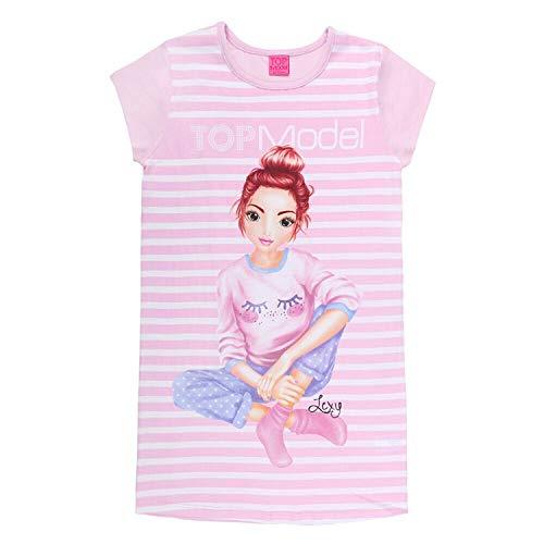 Top Model Mädchen Nachthemd rosa, Größe 128, 8 Jahre