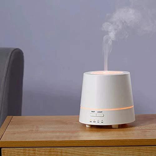 LZADI Portable Creativa Pequeña Pila de Madera del Coche de Aromatherapy Difusor máquina Inicio de Escritorio humidificador ultrasónico,Rosado
