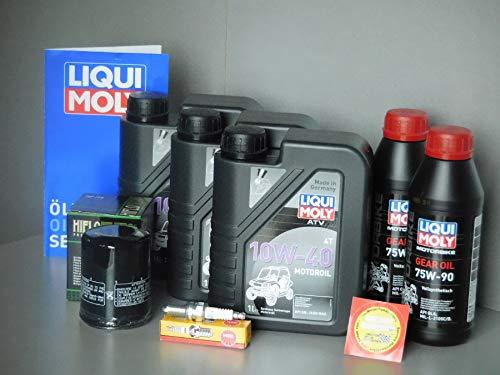 MotorFunSports  TGB Target 600 / Blade 600 - Kit de Mantenimiento con Filtro de Aceite, bujía, inspección