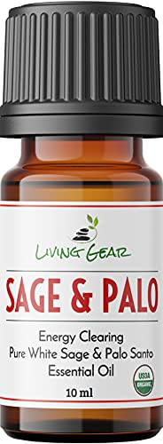 White Sage & Palo Santo Essential Oil For All Diffusers -...