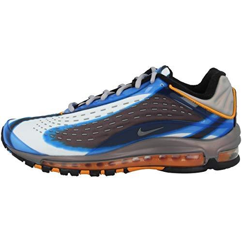 Nike Air Max Deluxe, Scarpe Running Uomo, Multicolore (Photo Blue/Wolf Grey/Orange Peel/Black 401), 45.5 EU