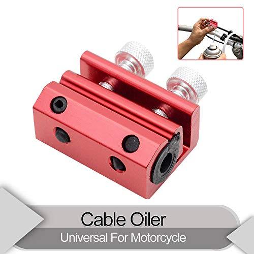 MASO Engrasador de doble cable lubricador herramienta lubricante universal de doble abrazadera...
