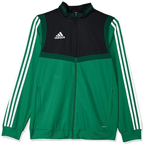 adidas Kinder TIRO19 PRE JKTY Sport Jacket, Bold Green/White, 13-14Y