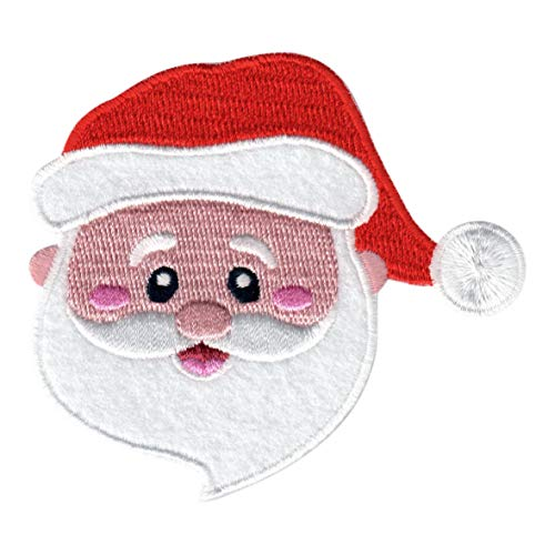 PatchMommy Santa Claus Patch Christmas, Iron On/Sew On - Appliques for Kids Children