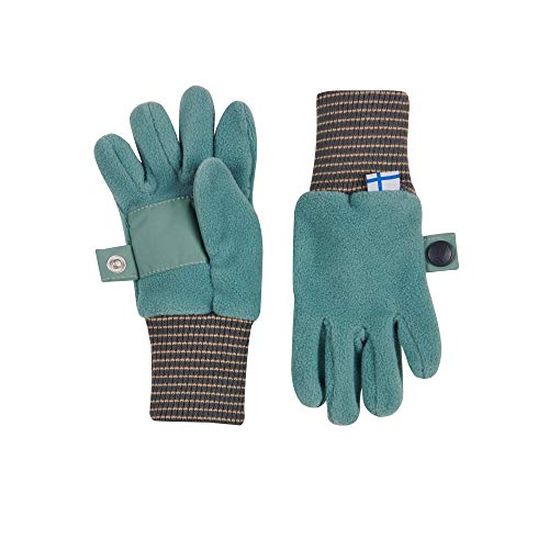 FINKID Handschuhe SORMIKAS Fleece Persian Trellis Graphit Gr. XL