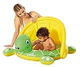 Happy People Schildkröte Babypool mit Sonnendach Planschbecken