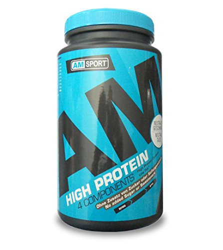 AMSPORT - HIGH PROTEIN 4 Components - NEUTRAL TASTE - 600g Dose