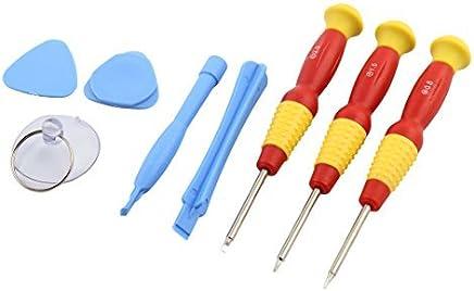 eDealMax destornillador Vivienda abertura de la reparación kit de herramienta de la palanca 8 en 1