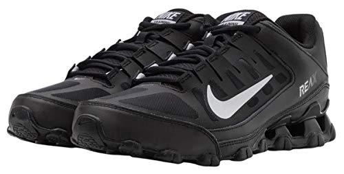 Nike Reax 8 TR Mesh, Zapatillas Deportivas Hombre, Black Mtlc Silver, 42.5 EU