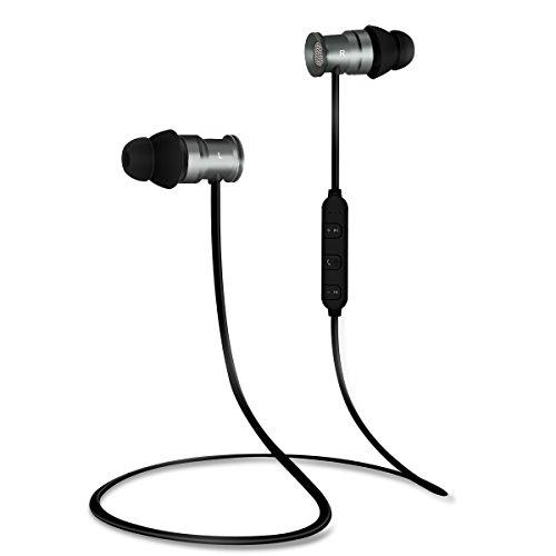 EC Technology Auricolari Bluetooth 4.1 per con Microfono, e magneti...