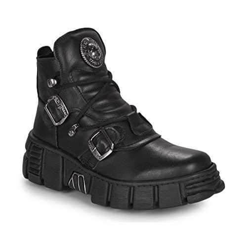 New Rock ARIA Stiefelletten/Boots Hommes Schwarz - 41 - Boots