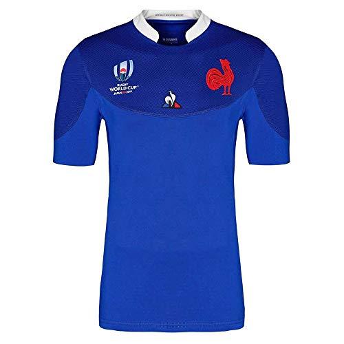 Camiseta De Rugby para Hombres, Entrenamiento De Competición, Sudor Transpirable, Ropa para Fanáticos, Equipo Nacional Francés