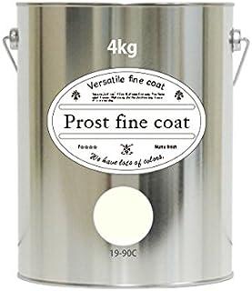 ペンキ 水性塗料 19-90C ホワイトクリーム 4kg / 艶消し 壁 天井 壁紙 壁クロス ファインコート