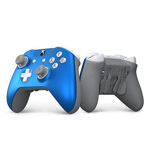 SCUF Prestige Custom Performance Controller for Xbox One, Xbox Series X, PC & Mobile - Blue & Gray V2