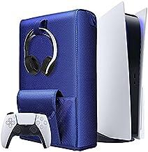 TwiHill a tampa de proteção contra poeira de armazenamento é adequada para console de jogos PS5, tampa de proteção de arma...