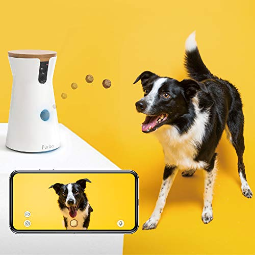 Product Image 7: Furbo Dog Camera: Full HD Wifi Pet Camera with 2-Way-Audio, Treat Tossing, Night Vision and Barking Alerts, Designed for Dogs, Works with Amazon Alexa (As Seen On Paul O'Grady – For the Love of Dogs)