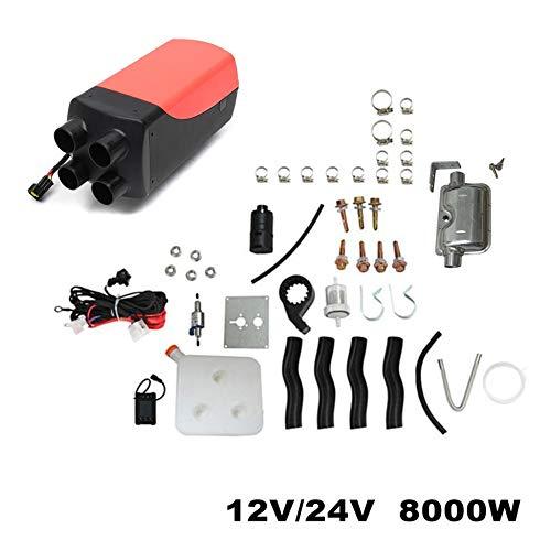 12V 8KW Calentador de aire diesel de estacionamiento Interruptor de cuatro orificios...