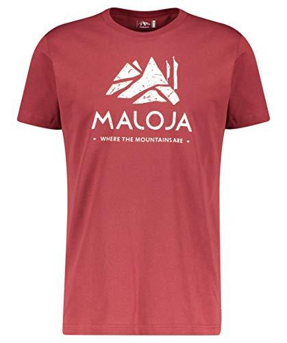 Maloja Herren Grassitschm. Unterhemd, Roter Mönch, M