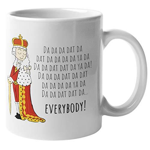 Da Da Da King George Hamilton Mug | Hamilton Merchandise - Hamilton Coffee Mug | Hamilton Musical Merchandise, Kids Mugs Hamilton Merch Gifts, Alexander Hamilton Cup (Hamilton Da Da)