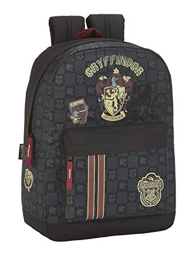 Safta - Mochila Escolar de Harry Potter Oficial Gryffindor Adaptable a