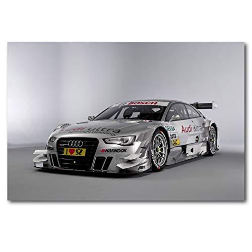 QAZEDC Dekorative Malerei Sportwagen RS DTM Rennen Rennen Sportwagen Bild Wandkunst Poster und Drucke Leinwandbilder Für Raumdekor 60x80cm