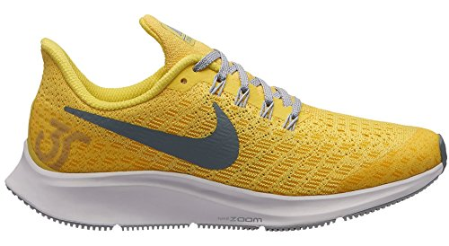 Nike Air Zoom Pegasus 35 (GS), Scarpe Running Donna, Multicolore (Dynamic Yellow/Cool Grey/Amarillo 700), 35.5 EU