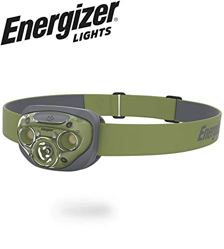 Energizer Forest Green LED Headlamp with Smart Dimming Technology