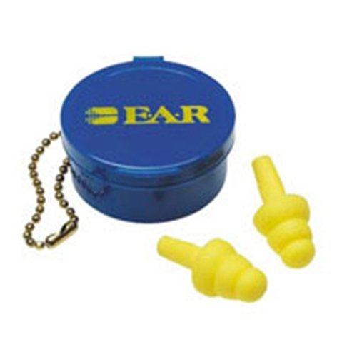 Use E-A-R UltraFit Triple Flange 50 Limited Special Price Brand Cheap Sale Venue Pair Uncorded Earplugs Foam