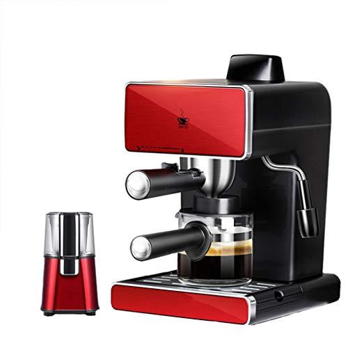 ZYY espressomachine, digitaal koffiezetapparaat 900 Watt • 1250 ml waterreservoir • Geschikt voor thuis, bedrijf, feesten