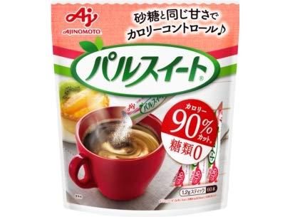 味の素 パルスイート スティック 72g(1.2g×60本)×10袋入×(2ケース)