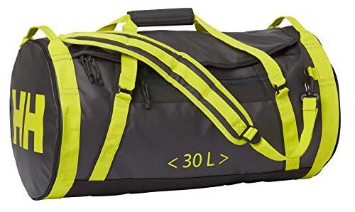 Helly Hansen Duffel Bag 30L Bolsa de Viaje, 60 cm, 30 Liters, Gris (Ebony)