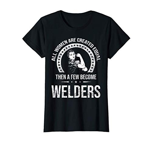 Womens Welder Shirts for Women - Metalworkers T-Shirt