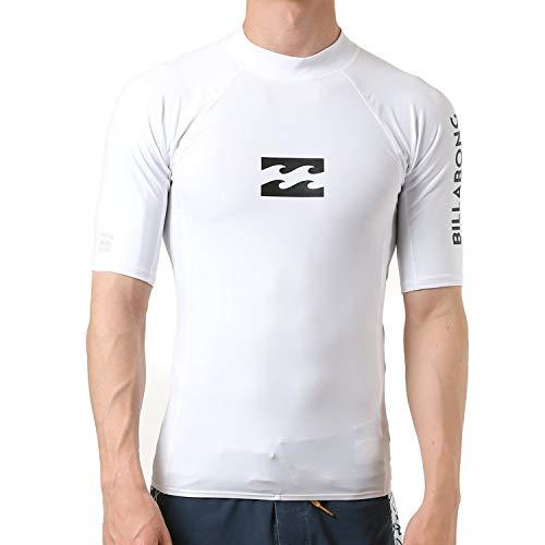 [ビラボン][メンズ]半袖ラッシュガードTシャツ(タイトフィット)[AJ011-850/RASHGUARD]海スポーツおしゃれWHT_ホワイトUSXL(日本サイズXL相当)