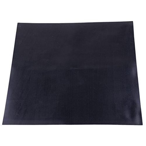 Eastar 30 x 30 cm 1mm Dicke Schwarzes Industriegummi-Platte Hochtemperatur-Platte Matte Hohe Qualität