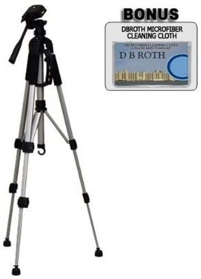 """high quality Professional PRO 72"""" Super Strong Tripod with Deluxe high quality Soft Tripod Carrying Case for The Sony outlet online sale DCR-SX85, SX65, HDR-CX160, CX130 Digital Camcorders online sale"""