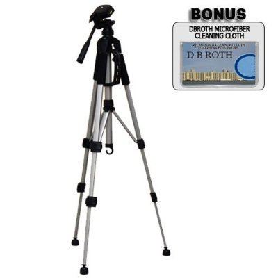 Deluxe 57' Camera Tripod with Carrying Case For The Nikon D40, D40X, D60 Digital SLR Cameras