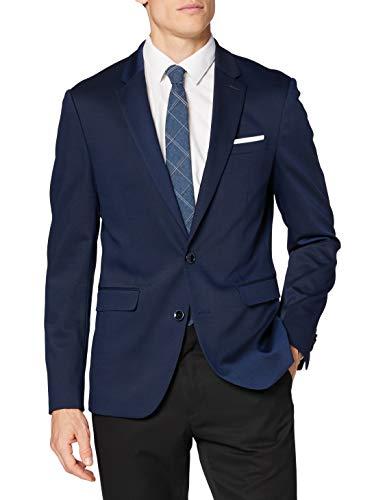 Celio RUDIAMOND Business Suit Jacket, Bleu, 44 Mens