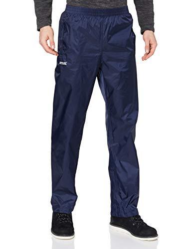 Regatta Waterproof - Pantalones para hombre, azul azul, S