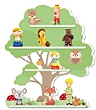 Tonies Regal Motiv Baum/geeignet für circa 30 Tonie