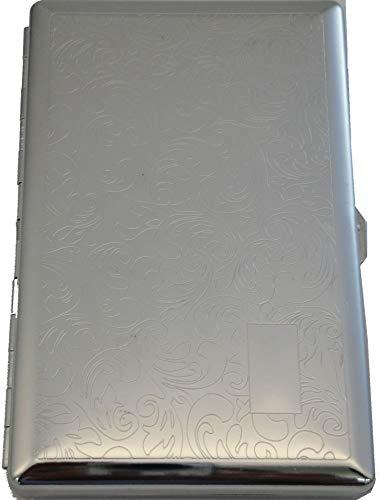HUMIDORO Zigarettenetui - Material: Metall - zeitlos elegant - für 8 Zigaretten - Spiegel