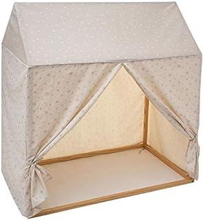 Paris Prix Atmosphera for Kids - Toile pour Lit Cabane Enfant Hut 116x126cm Taupe